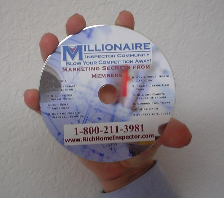 free cd on home inspection marketing for home inspectors
